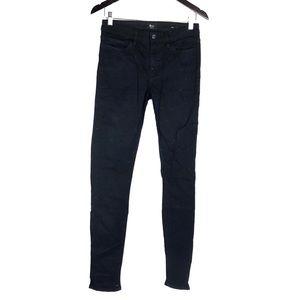 Marciano Black Rhinestone Sparkle Skinny Jeans